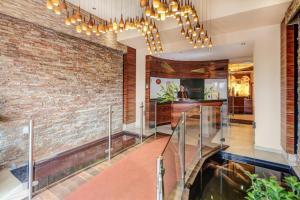 The lobby or reception area at Hotel Kiwano Graz