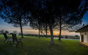 Jardín al aire libre en Clube de Campo Vila Gale
