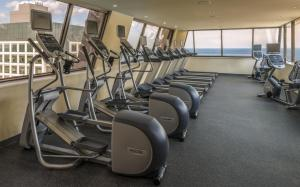 The fitness center and/or fitness facilities at Hampton Inn Chicago Downtown/Magnificent Mile