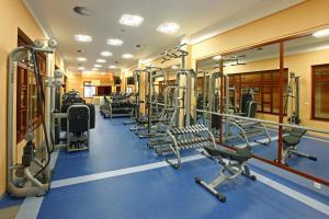 Fitness centrum a/nebo fitness zařízení v ubytování Ensana Centrální Lázně - Maria Spa