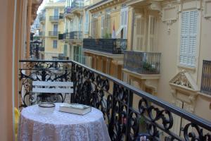 A balcony or terrace at Monte Carlo Center