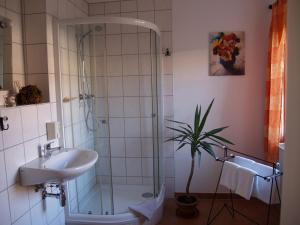 A bathroom at Zum Goldenen Stern