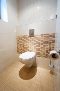 Koupelna v ubytování Motel Jetel