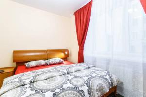 Кровать или кровати в номере BatmanHome Apartment