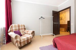Гостиная зона в Апартаменты на Лихачевском Шереметьево