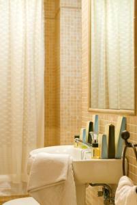 A bathroom at Casa Palacio Luna