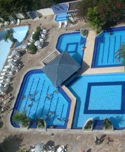 A view of the pool at Flat Eldorado Thermas Park or nearby