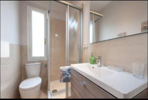 Un baño de Appartamento Toscanella