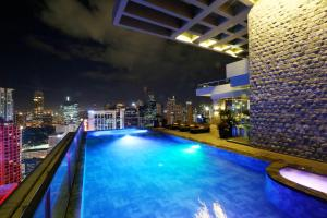 The swimming pool at or near City Garden Grand Hotel