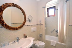 Ванная комната в Arciduca Grand Hotel