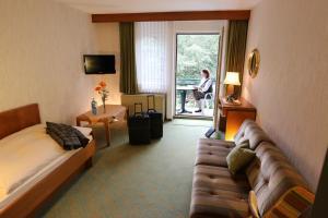 A seating area at Hotel Niggemann