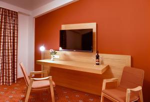 TV/Unterhaltungsangebot in der Unterkunft Hotel & Restaurant Waldcafe Hettstedt