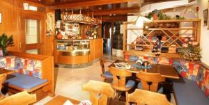 Lounge oder Bar in der Unterkunft Residence Pizzeria Priska