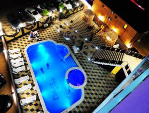 A view of the pool at Dolce Vita Hotel or nearby
