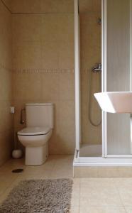A bathroom at Estudios Blanmart