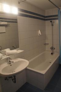 Ванная комната в Hotel am Steintor