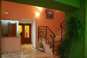 The lobby or reception area at Hotel Castilla