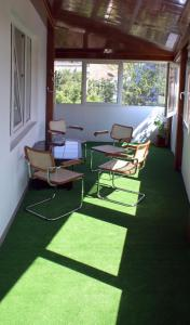 A seating area at Pension Happy Day
