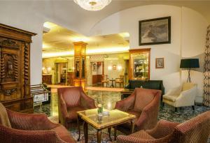 מסעדה או מקום אחר לאכול בו ב-Hotel Stefanie