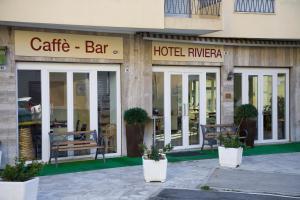 The facade or entrance of Hotel Riviera Sanremo