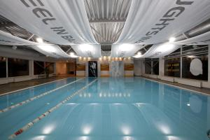 The swimming pool at or near Amber Spa Boutique Hotel