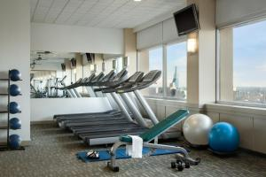 The fitness center and/or fitness facilities at The Fairmont Winnipeg