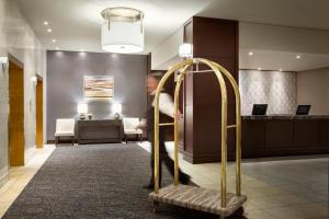 A bunk bed or bunk beds in a room at The Fairmont Winnipeg
