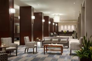 The lobby or reception area at The Fairmont Winnipeg