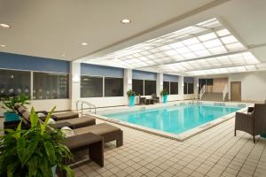 The swimming pool at or near The Fairmont Winnipeg
