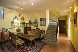 Ein Sitzbereich in der Unterkunft Casa Calina