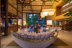 Um restaurante ou outro lugar para comer em Refúgio da Vila