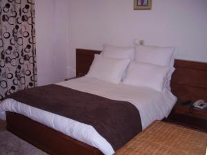 Uma cama ou camas num quarto em Casa Morgado