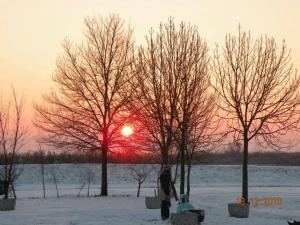 La Tomina durante l'inverno