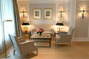 Zona de estar de Hotel München Palace