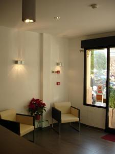 Zona de estar de Hotel Restaurant Forum