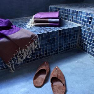 The swimming pool at or near Dar Bibine