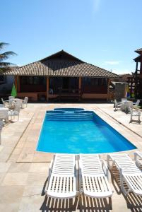 The swimming pool at or near Pousada Portal da Barra