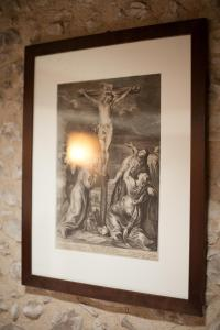 A certificate, award, sign or other document on display at B&B Asolo Casapagnano