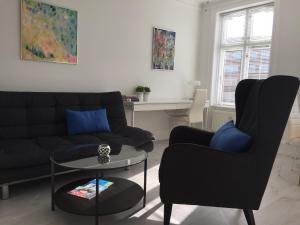 A seating area at City View Apartment Copenhagen