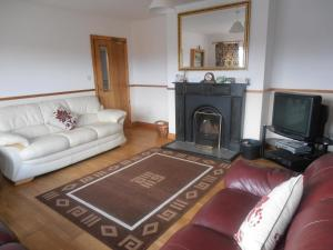 A seating area at Hungry Hill Lodge