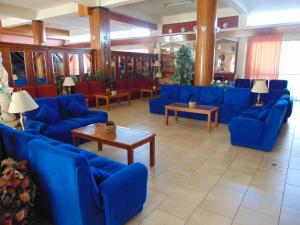 Лаундж или бар в Hellas Hotel