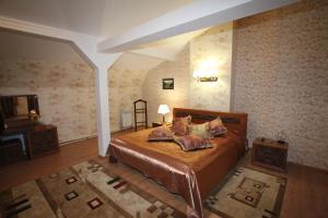 Кровать или кровати в номере Георгиевская