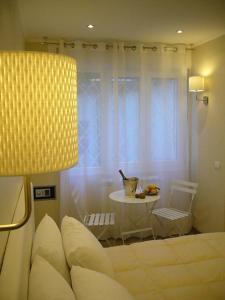 Ein Sitzbereich in der Unterkunft Grignetti Bed
