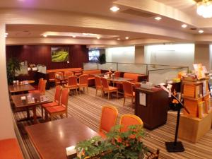 A restaurant or other place to eat at Kashihara Oak Hotel