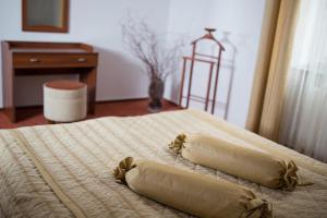 Кровать или кровати в номере Hotel Reymont