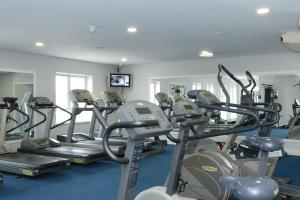The fitness center and/or fitness facilities at Clanree Hotel & Leisure Centre