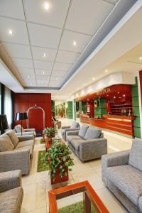 Hol lub recepcja w obiekcie Hotel Rodan-Groklin