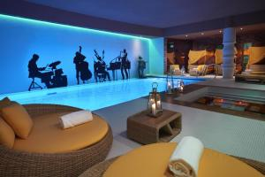 The swimming pool at or near Aria Hotel Budapest by Library Hotel Collection