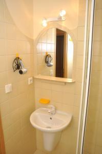 A bathroom at Penzion Po Vode