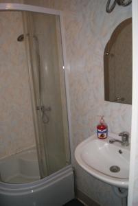 Ванная комната в Гостиница Лебедь